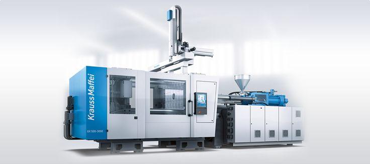 KraussMaffei GX #Tepro #KraussMaffei #German #technology #fullpower #plastic #injection #moldnig #machine #clampingforce #4.000kN #9.000kN