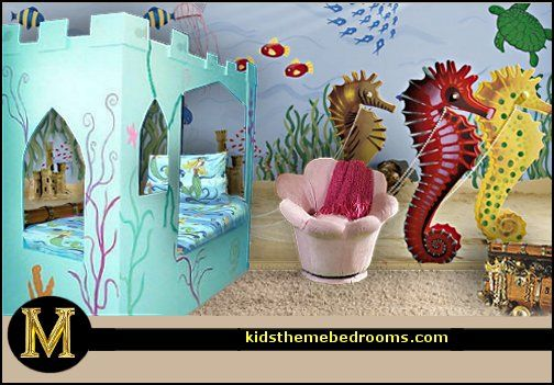 10 Bedrooms that look like they're under water – SheKnows  Underwater Bedroom Decorations