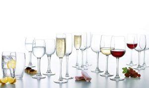 Copas para vino baratas Luminarc Versailles. 19,92 euros. Descuento del 17%