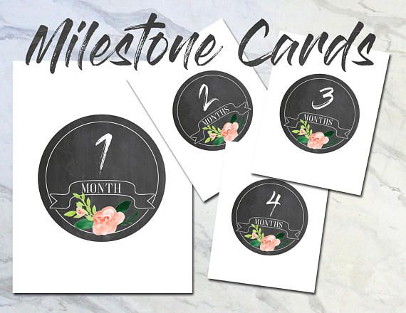 Check out this item in my Etsy shop https://www.etsy.com/listing/509507144/chalkboard-milestone-cards-monthly-photo