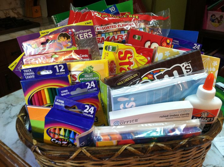 42 best teachers gift baskets images on pinterest gift ideas great idea sweet gift wrapping the simple way negle Gallery