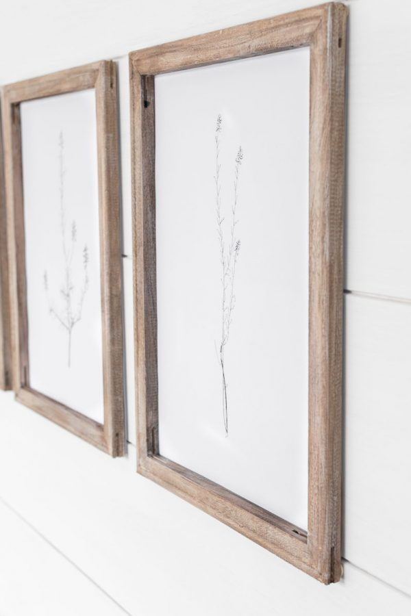 Simple No Construction Diy Wooden Frames Made With Stretched