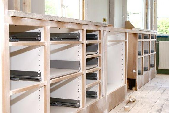 Pickyliving Koksluckor : ikea koksluckor  inbyggda luckor med ikeastommar kitchen Pinterest