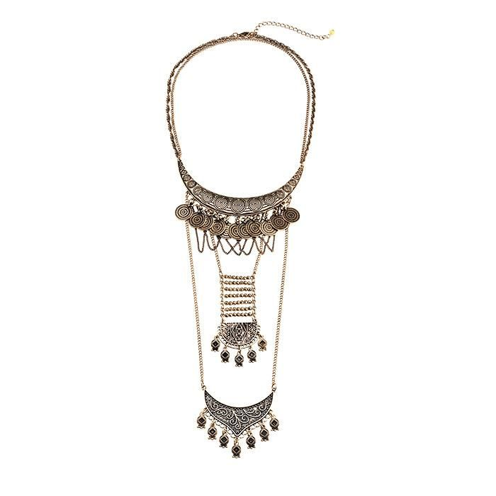 Avon's mark. Off The Chain Necklace is a runway inspired necklace with layers on top of layers. Regularly $38.00, shop Avon Jewelry online at http://eseagren.avonrepresentative.com
