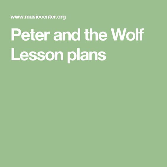 HUGE Unit outline for Peter and the Wolf with tons of resoruces