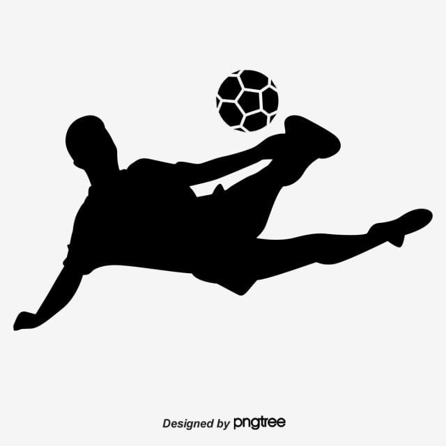 Football Players Silhouette Football Player Silhouette Movement Vector Png Transparent Clipart Image And Psd File For Free Download In 2020 Football Silhouette Football Players Football