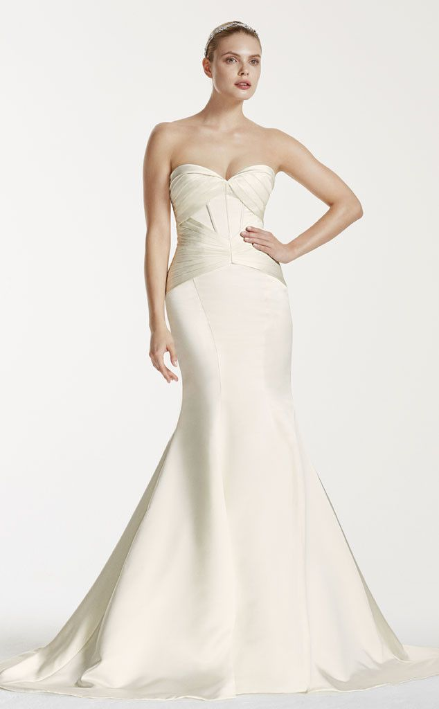 Here's Your First Look at the Truly Zac Posen Fall 2015 Collection for David's Bridal—See the Stunning Gowns!  Zac Posen, Fall 2015, David's Bridal