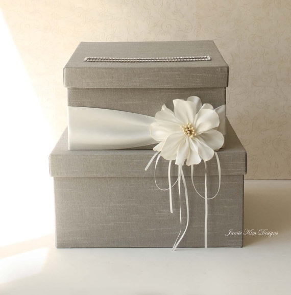 Wedding Gift Check Or Cash : Wedding Card Box Wedding Money Box Gift Card by jamiekimdesigns, USD102 ...