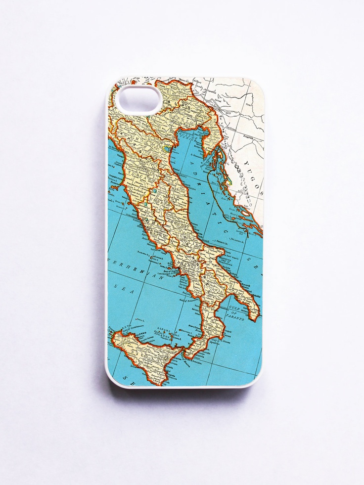 Cyprus Map Vector%0A Vintage Italy Map iphone Case          via Etsy