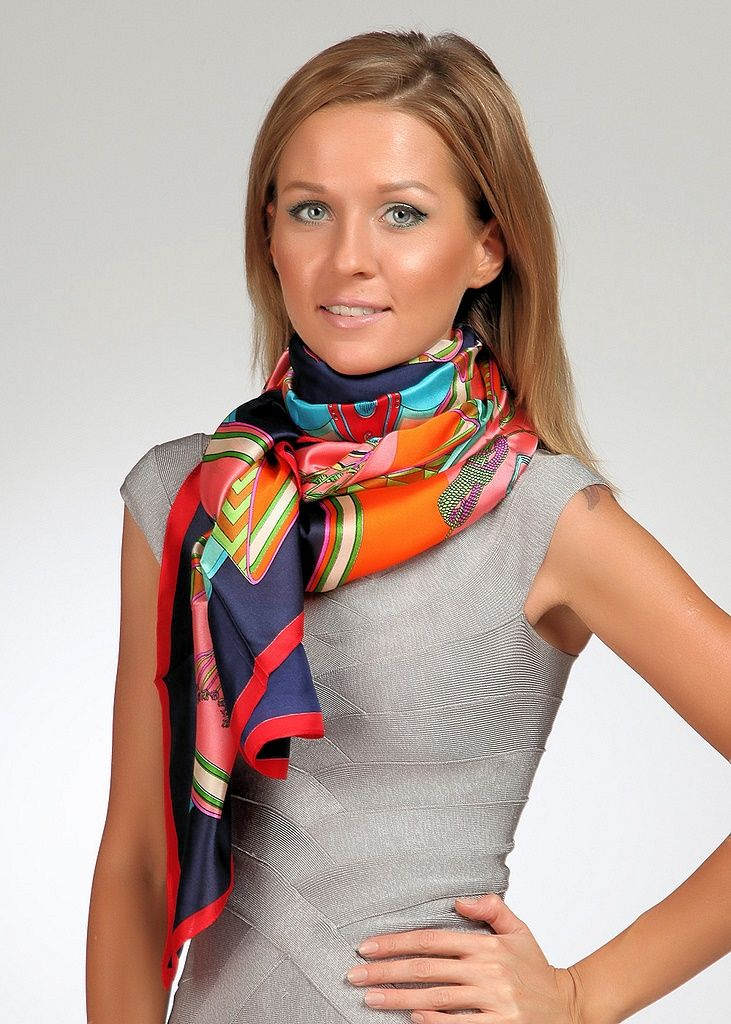 1758 best images about Silk Neck Scarves on Pinterest ...