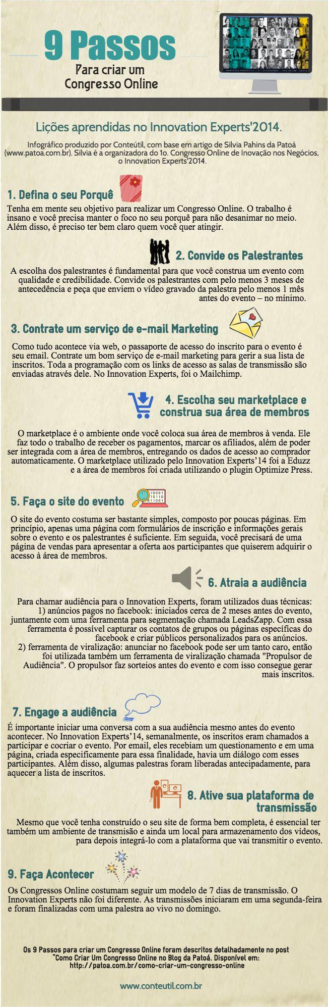 Infográfico 9 Passos