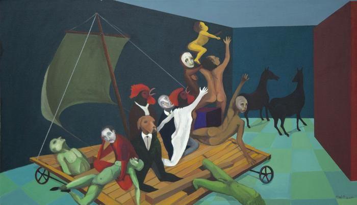 The Raft of False Hope - ON LOAN