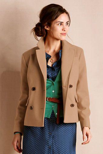 Women's Wool Coat from Lands' End