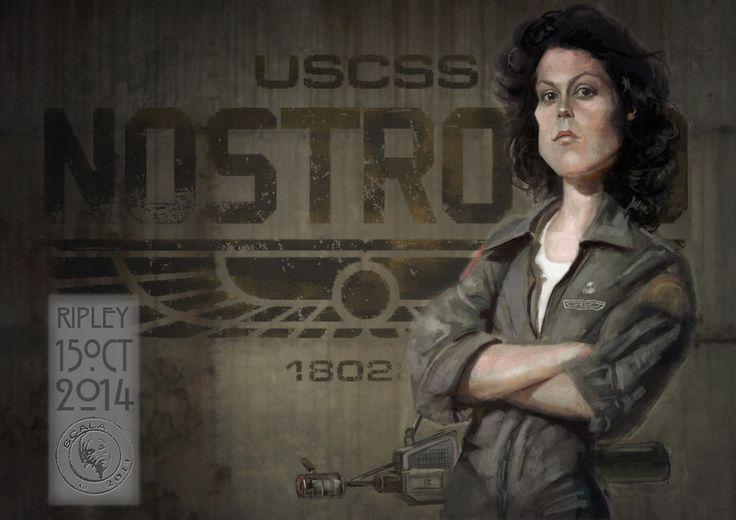 Ripley Alien Sigourney Weaver