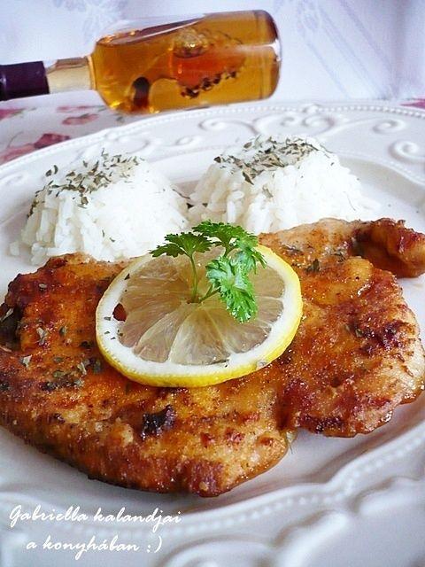 Gabriella kalandjai a konyhában :): Ínycsiklandozó csirke