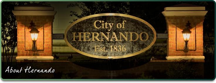 About Hernando   City of Hernando Mississippi - Mom & THVanBibber married