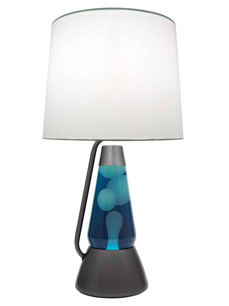 3117 White Wax With Navy Liquid Motion Lamp. 60 Watt Light BulbLava ...