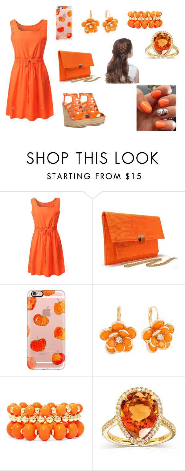 """""""bj"""" by aiste-mini on Polyvore featuring Casetify, Mixit and Kobelli"""
