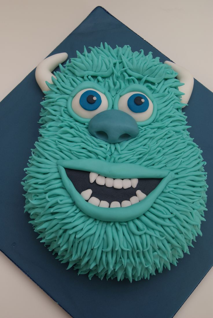Disney Monster Inc. cakes | Disney Pixar Monsters Inc James P Sullivan / Sulley!