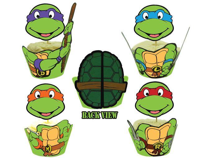 Teenage Mutant Ninja Turtles Cupcake