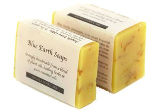 Angels' Love Cake  1. for angels bound to earth. 2. earth angels. 3. a cake that feeds the skin with the blessed earthy goodness endowed in patchouli & lavender oil & the serenity of dried calendula petals.