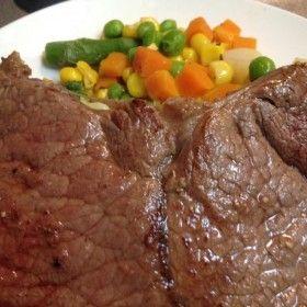 Olcsó húsból finom steak