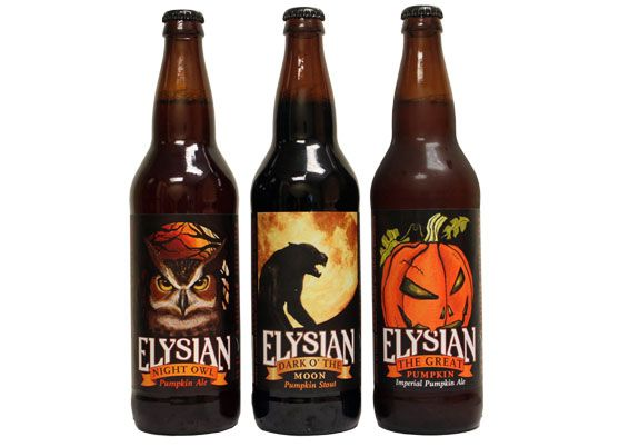 Elysian Brewing Pumpkin Beers, had the one on the left last night.... Best pumpkin beer yet, better than Bristol's!