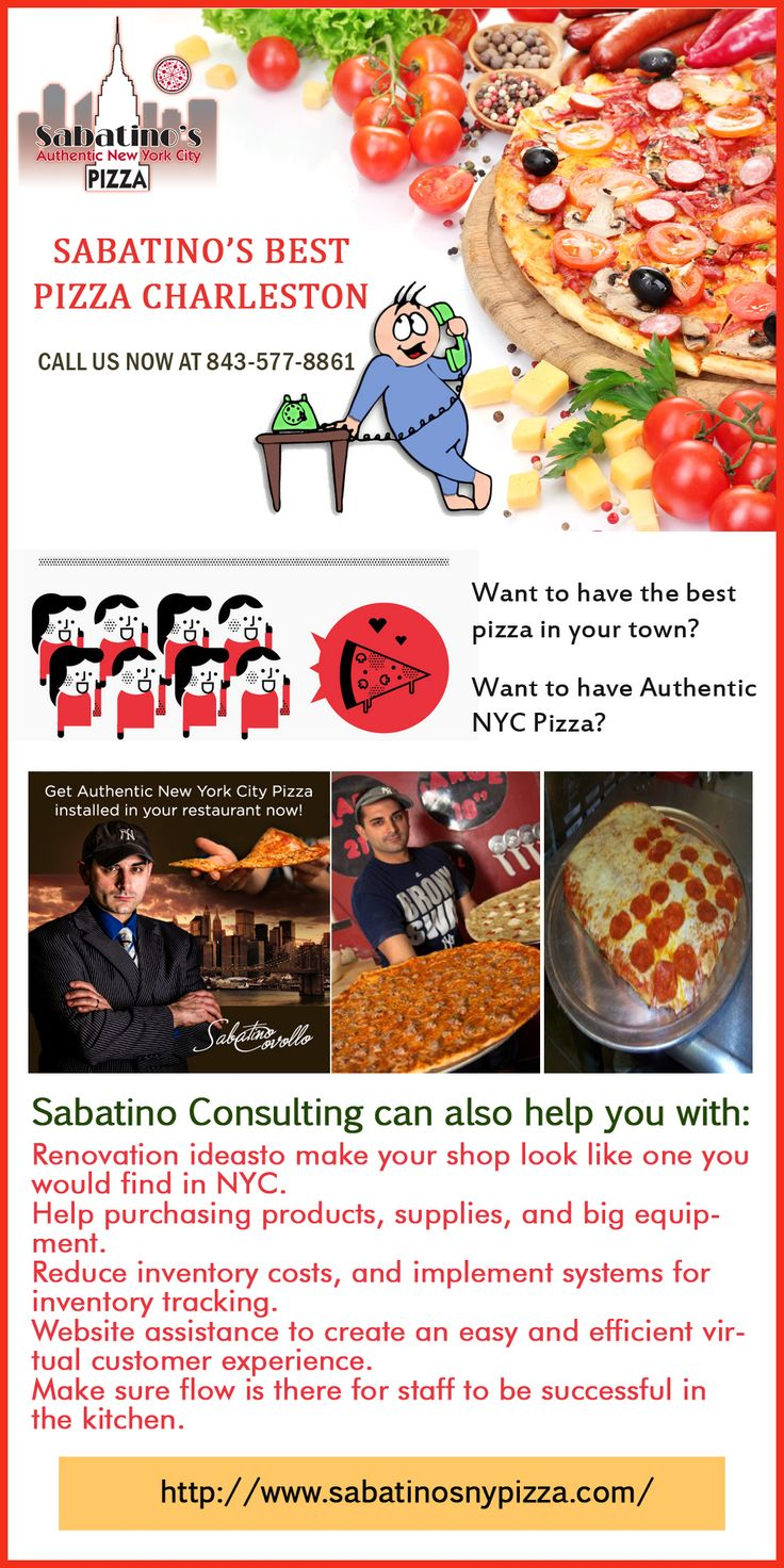 New York Style Pizza in Consulting