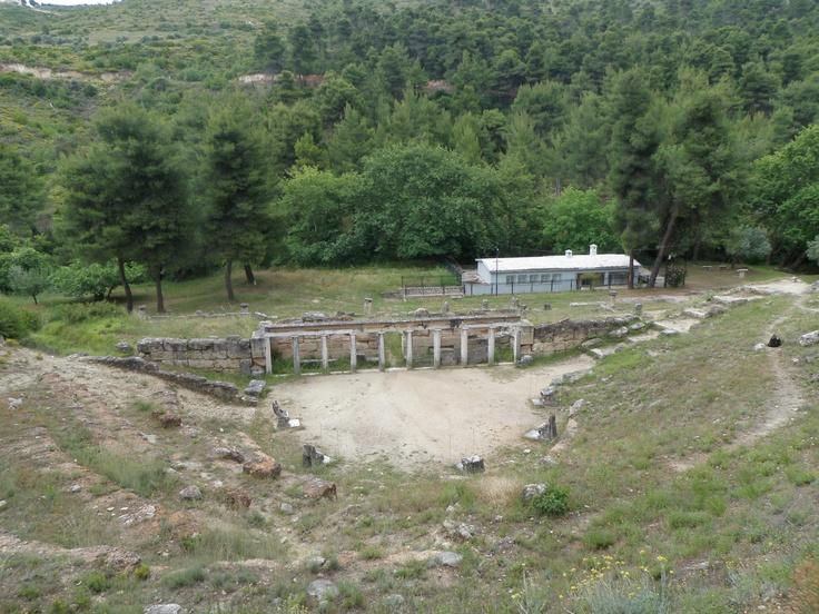 Amphiareion of Oropos, theater.