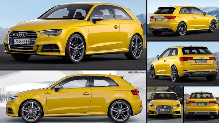 A TTS With Two Extra Doors - First Look: 2017 Audi S3