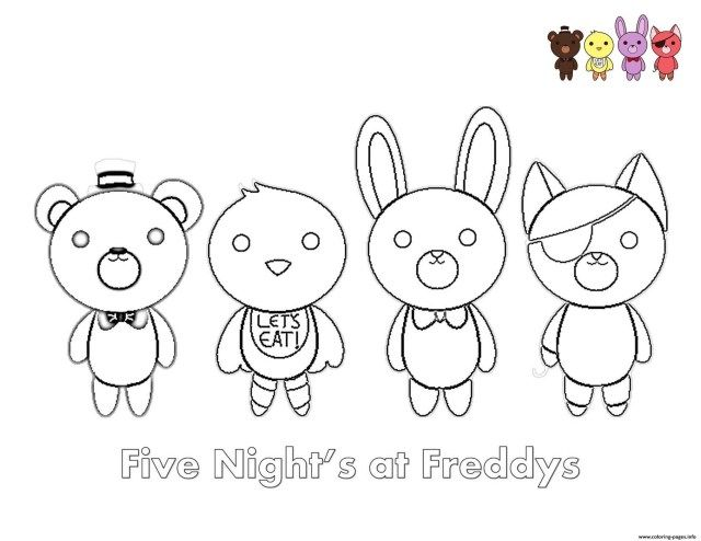 21 Inspired Picture Of Five Nights At Freddy S Coloring Pages Entitlementtrap Com Fnaf Coloring Pages Cartoon Coloring Pages Coloring Pages