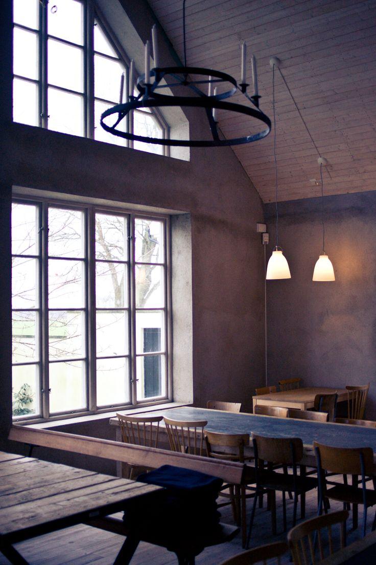 Dining room something. Kafferosteriet på Österlen.