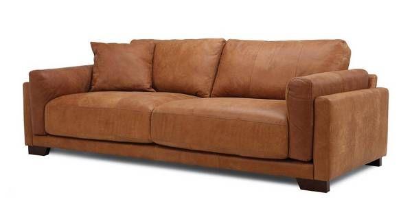 Balboa 4 Seater Sofa Saddle Sofa Two Seater Leather Sofa Seater Sofa
