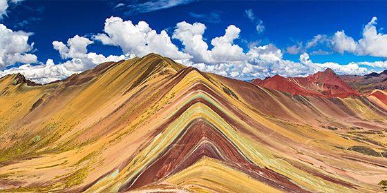 Le montagne arcobaleno del Perù
