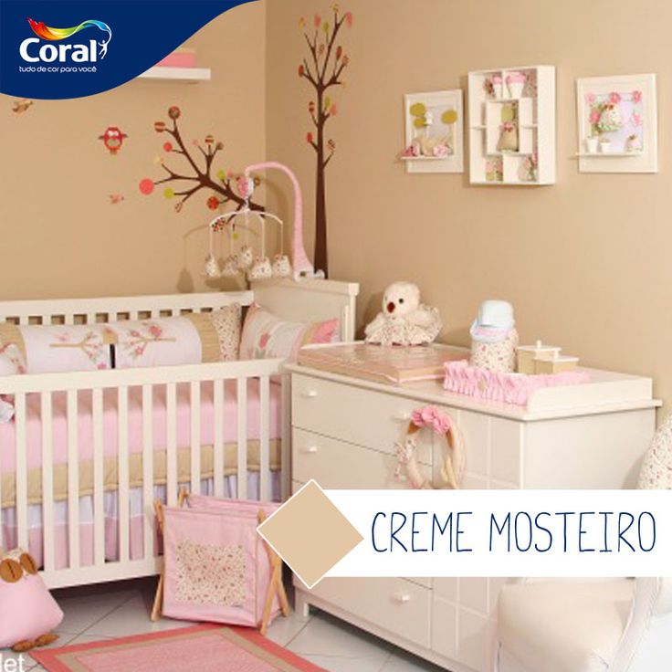 Tintas E Cores Para Quarto De Bebe ~   about Tintas Cores on Pinterest  Coral, Quartos and Girls bedroom