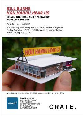 "Saatchi Art Artist Davis Museum; New Media, """"Hou Hanru Hear Us"""" #art"