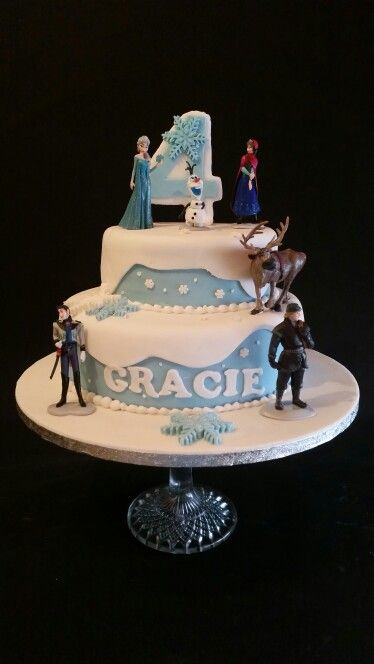 One Of My Favs Frozen Cake For 4 Year Old Little Girls