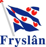 "Frisians are the salt of the earth. They are also very, very stubborn. Mom would say ... ""They just stand firmly in their shoes."" (And no, those are not red hearts on the flag!)"