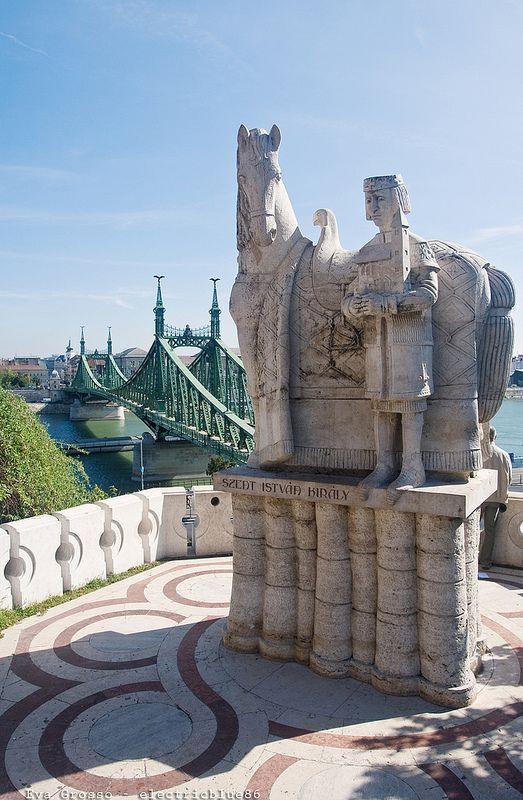 Szabadság Híd - Liberty Bridge Budapest, Hungary