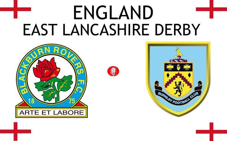 1879, England (1st EAST LANCASHIRE DERBY), Blackburn Rovers F.C. < > Burnley F.C. #BlackburnRoversFC #BurnleyFC #England (L9166)