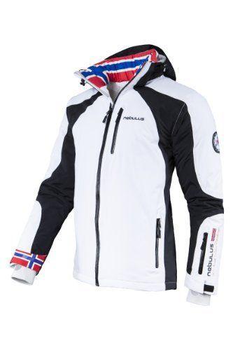 Nebulus Davos Veste de ski Homme: Nebulus Manteau De Ski Homme Davos – Tissu respirant – évacue la transpiration – Séchage rapide – le…