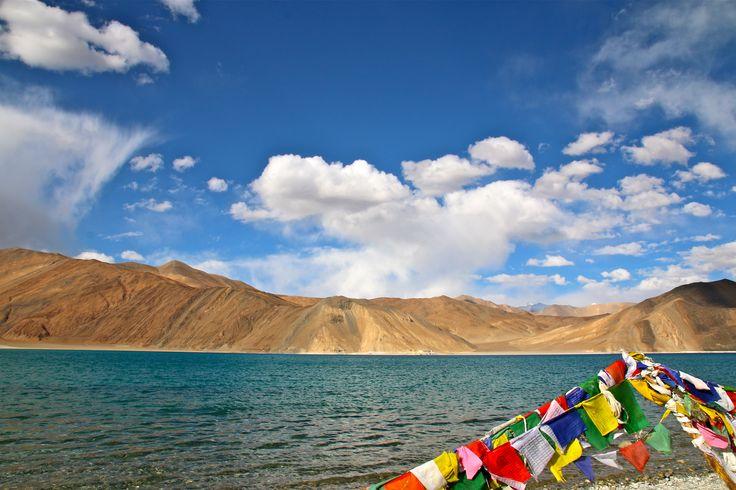 Pangong Lake, 4300m, Ladakh