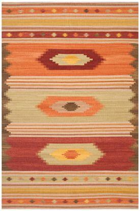 Safavieh Navajo Kilim Nvk176A Brown / Multi Area Rug 8x10 $633