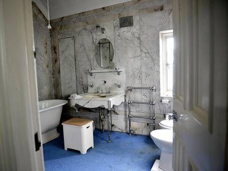 The 40-room Yorkshire home that's frozen in time: Stunning images reveal eerie abandoned mansion left to rot for THREE decades