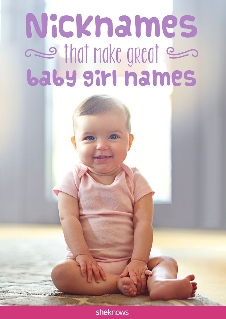 From Abby to Kate, sweet nicknames that make perfect baby names for girls!