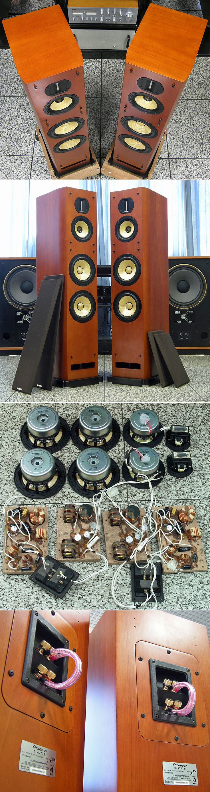 Pioneer S-A77TB