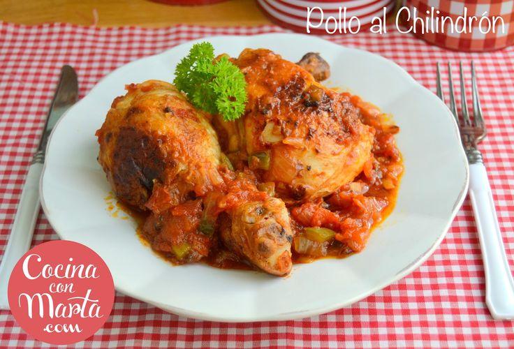 Receta pollo al chilindr n pollo f cil r pido sana - Pollo con almendras facil ...