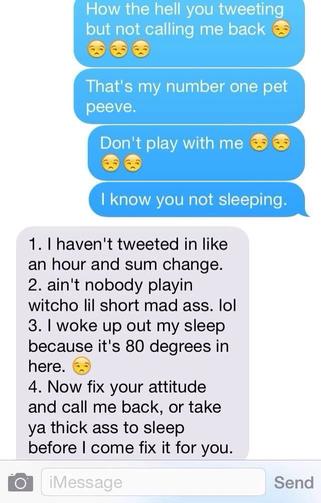 you really have to put me in my place tho! He would so say this to me @aniyahhawkins