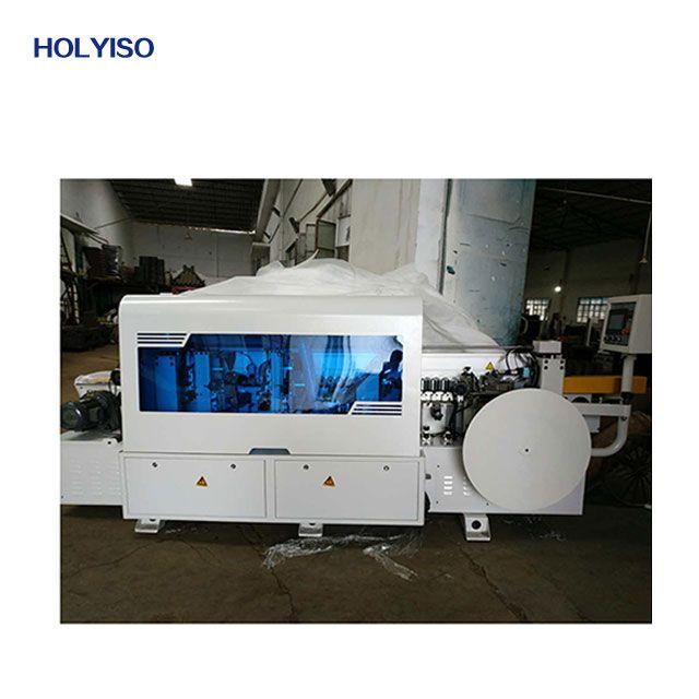 Mfz602 Edge Banding Machine 5 Function Gluing End Trimming Fine Trimming Scraping Buffing Edge Banding Machine From Holyiso Press Machine Drilling Machin
