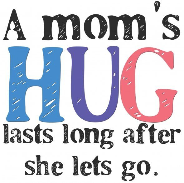 It sure does, even after my mom has been gone for many years, I still remember her wonderful hugs.....and miss them so much.....